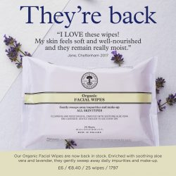 Organic Facial Wipes